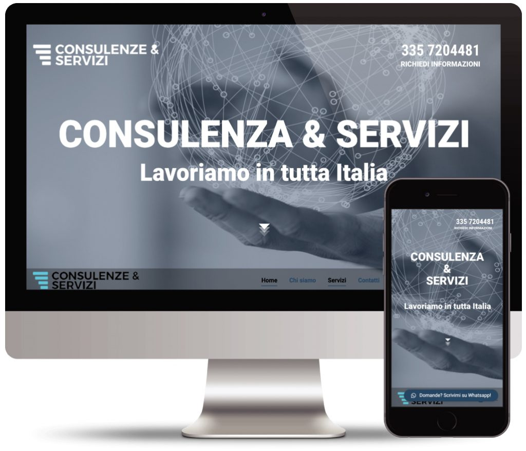 consulenza & servizi sito web vetrina