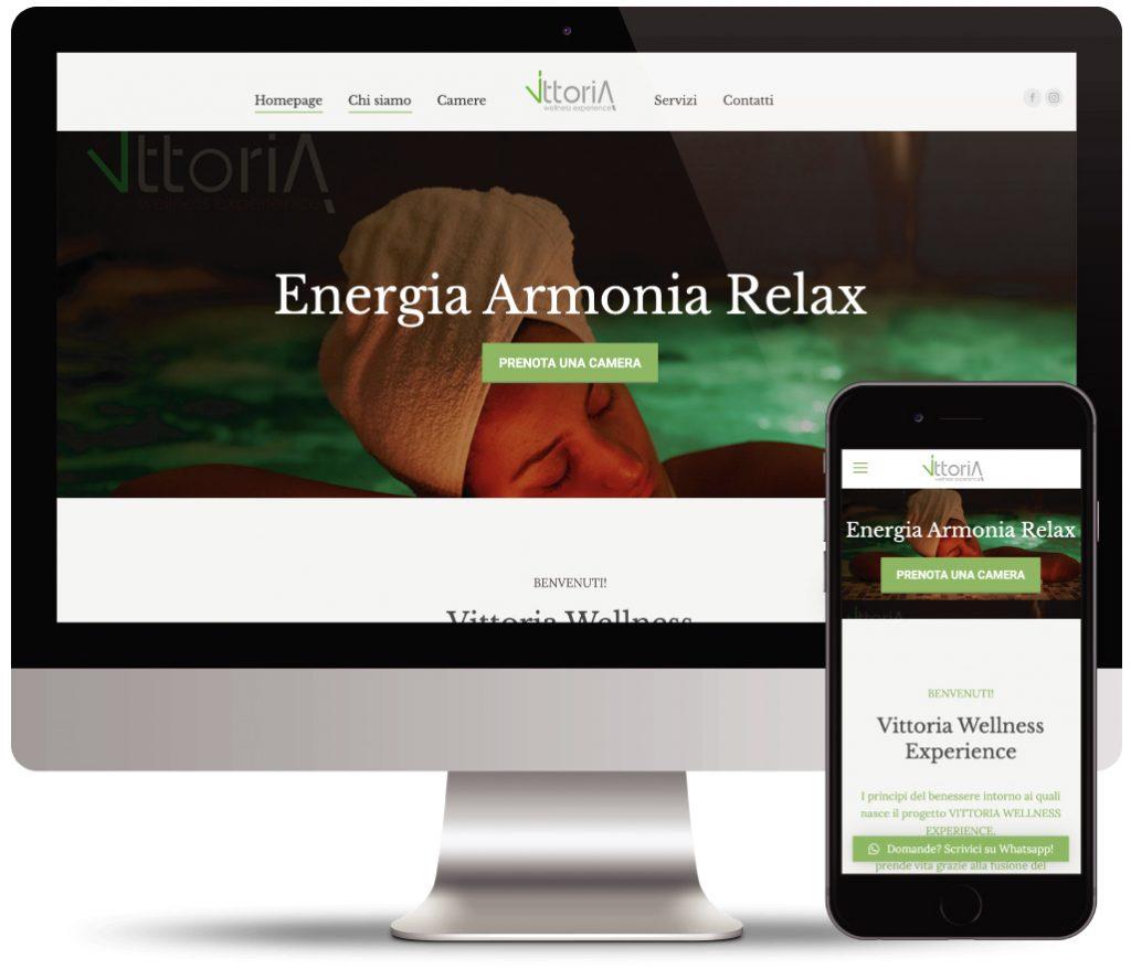 vittoria wellness sito vetrina